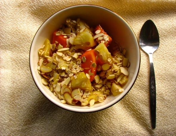 pawpaw breakfast