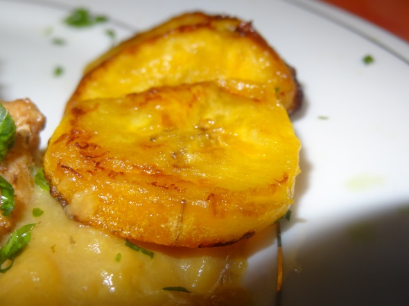 close fried plantains