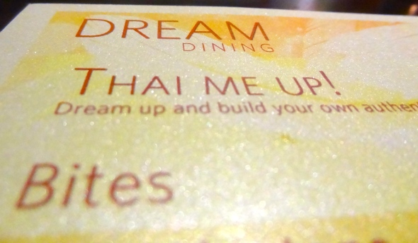 dream menu close