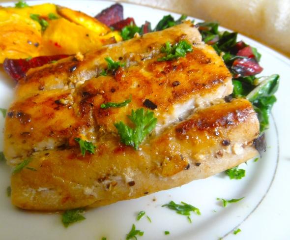 cooked mahi mahi