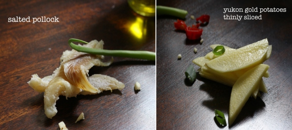 potato saltfish details