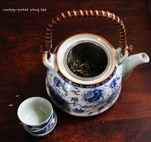 thc-choisum recipe-oolong tea