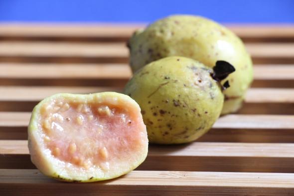 guava fruit close